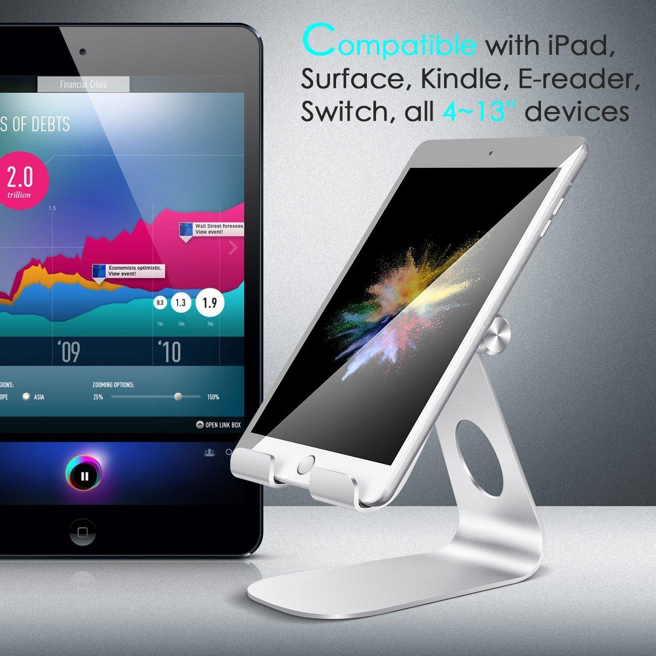 tablet st nder von lamical kompatibel f r ger te von 4 13. Black Bedroom Furniture Sets. Home Design Ideas