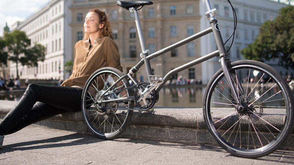 vello bike, selbstladende Elektro Faltrad