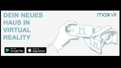 moxVR, Virtual Reality - Begehen Sie ihr Haus noch bevor es gebaut ist.