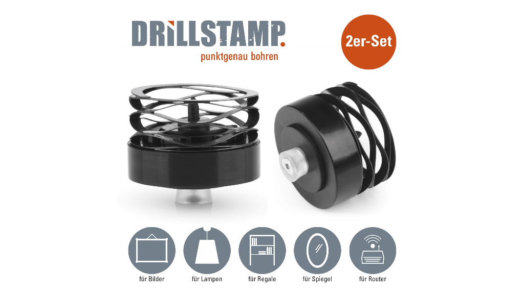 Drillstamp Bohrhilfe zum Amrkieren von Bohrlöchern